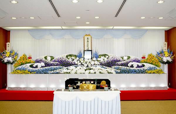 大阪市営斎場での葬儀を希望大阪市立鶴見斎場にて