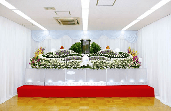 創価学会友人葬を地域会館で